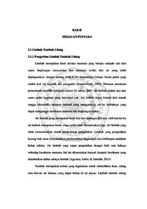 KAJIAN LIMBAH TAMBAK UDANG VANAME (Litopenaeus vannamei) TERHADAP