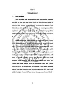 Klasifikasi Surat Masuk Berdasarkan Program Studi Fakultas
